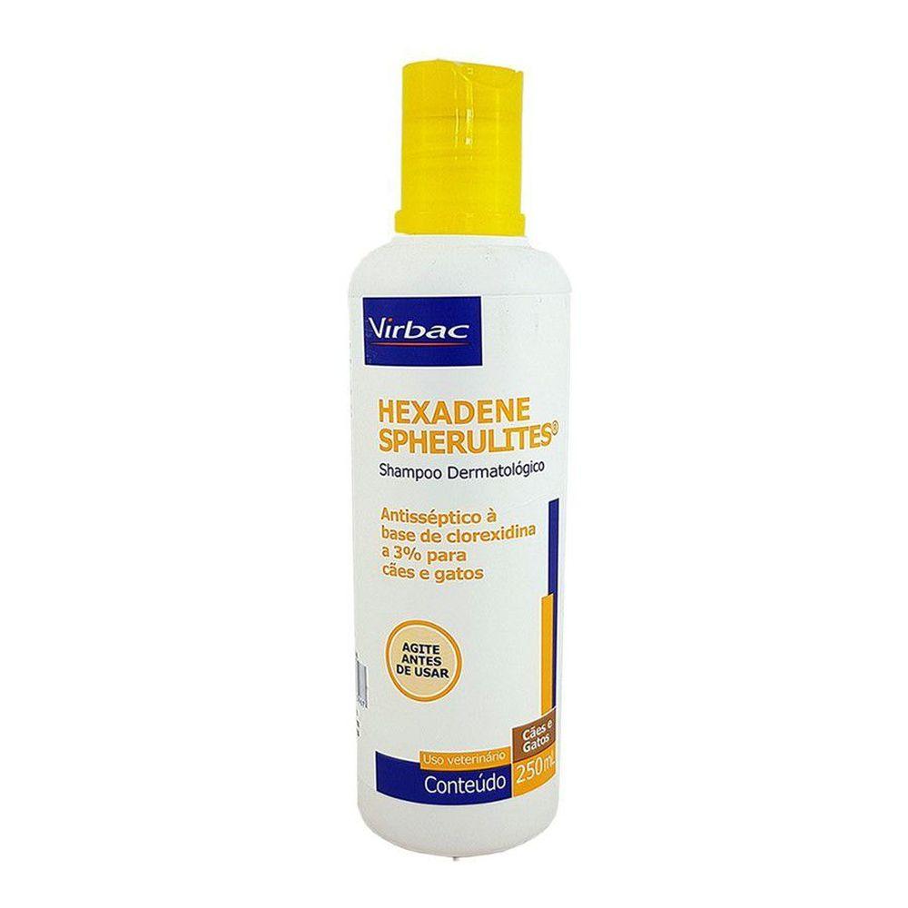 Shampoo Dermatológico Hexadene Spherulites Virbac 250ml
