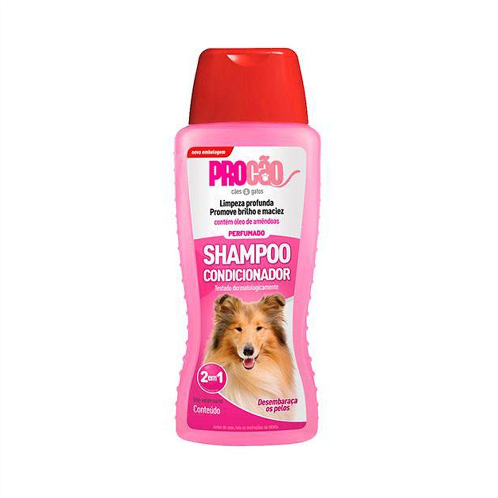 Shampoo e Condicionador Procão para Cães 500ml