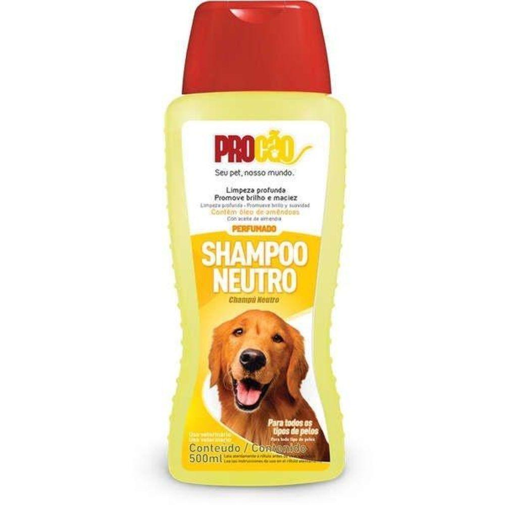 Shampoo Neutro Procão Para Cães 500ml