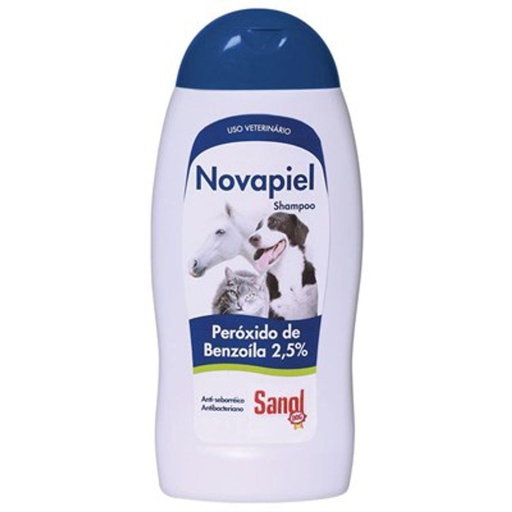 Shampoo Novapiel Sanol Dog Para Cães E Gatos 500ml