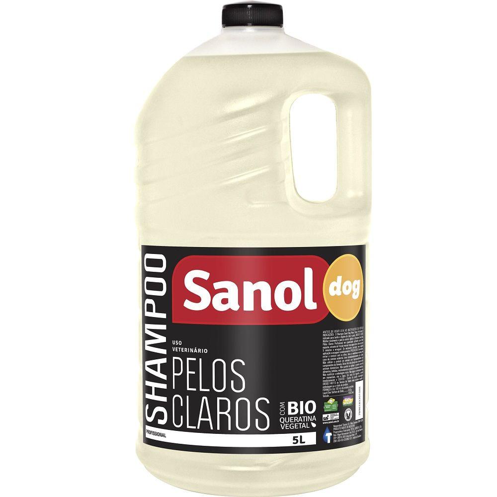 Shampoo Sanol Pelos Claros 5 Litros