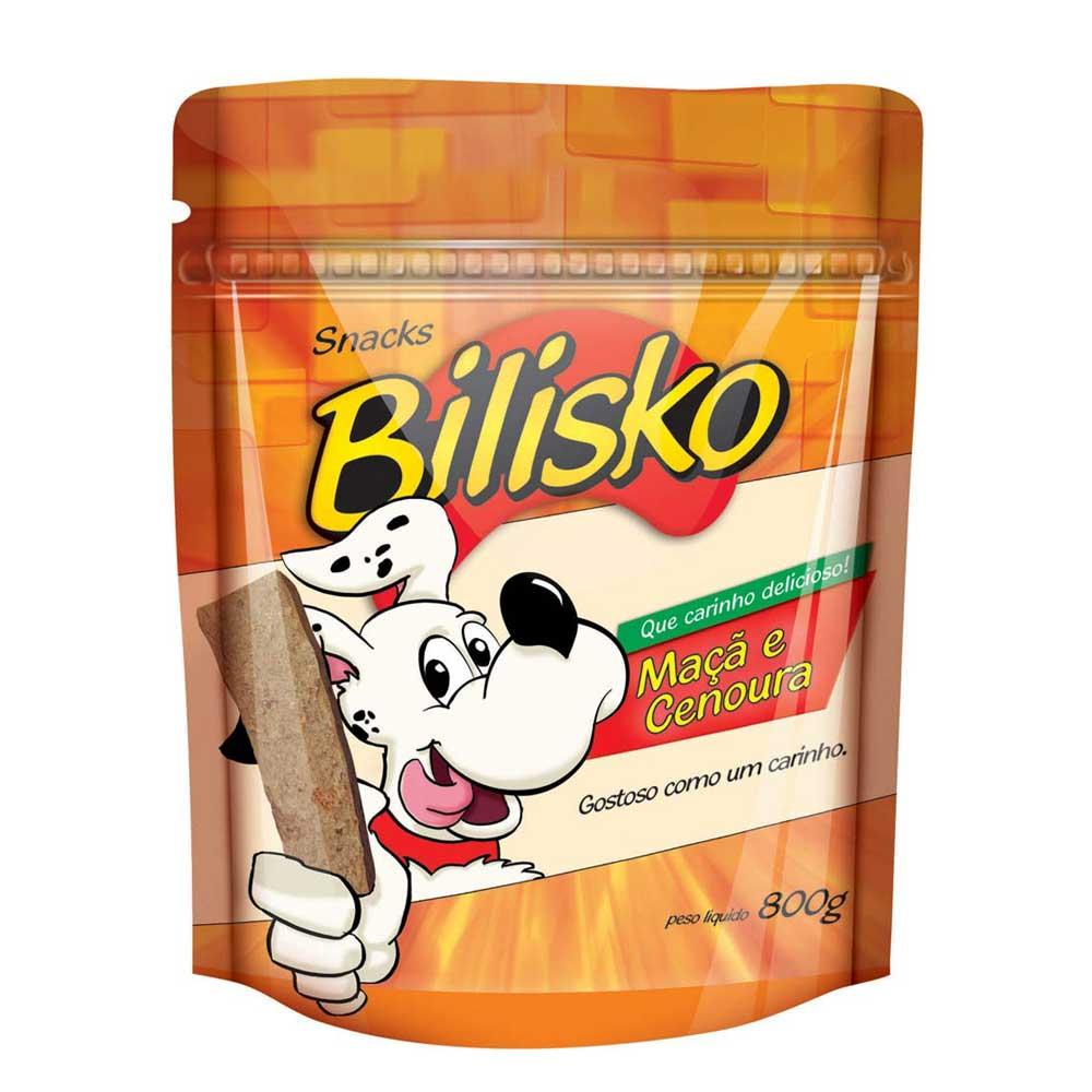 Snack Bilisko Maça E Cenoura para Cães 800g