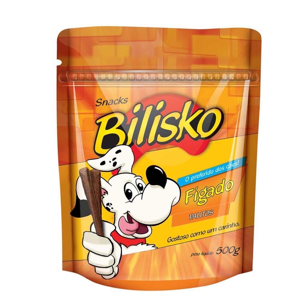 Snacks Bilisko Palito de Figado para Cães 500g
