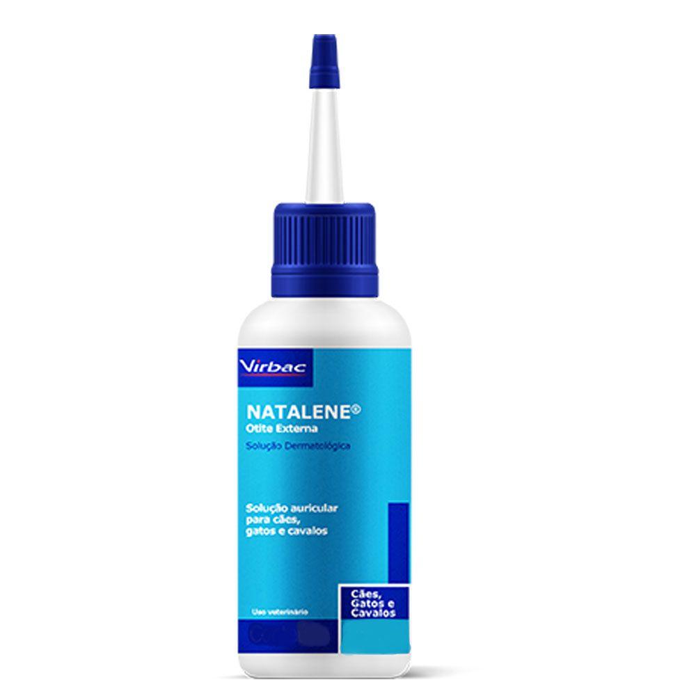 Solução Antiparasitária Auricular Virbac Natalene - 25ml