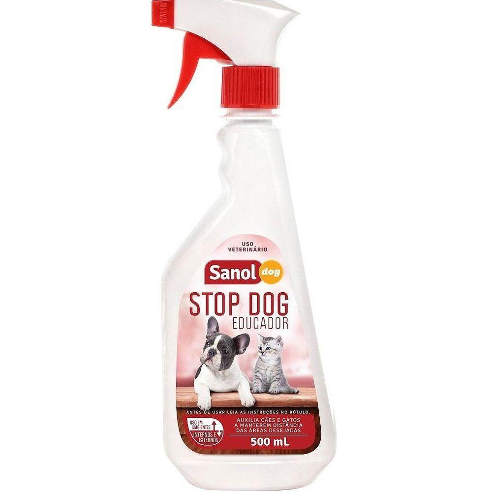 Stop Dog Spray Educador Sanitário Para Cães E Gatos 500ml