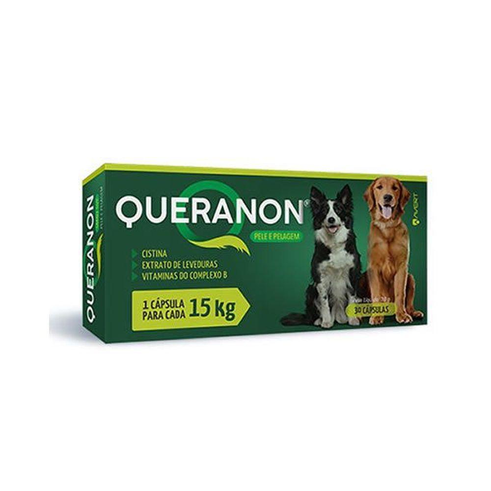 Suplemento Avert Queranon Até 15kg - 30 Cápsulas