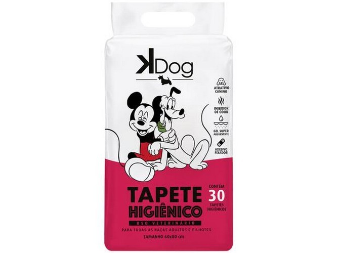 TAPETE HIGIENICO K-DOG DISNEY 30UND