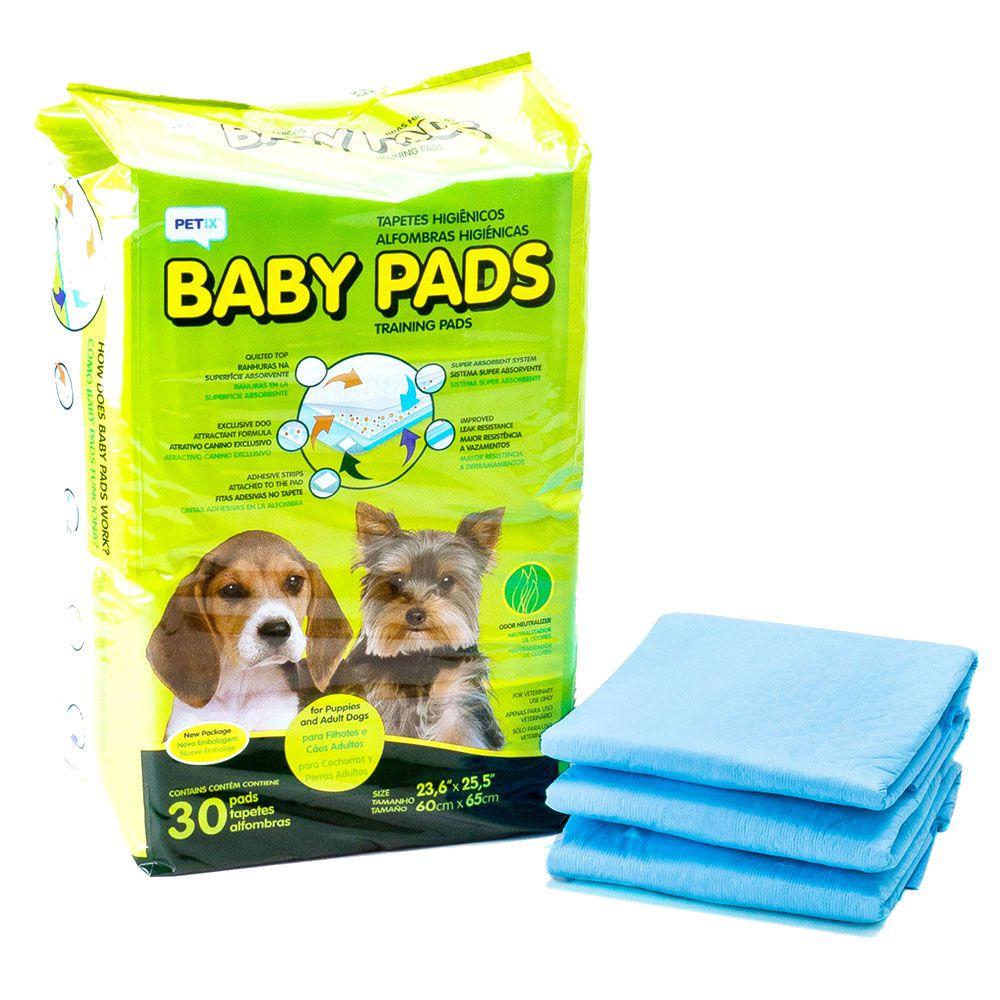 Tapete Higiênico Petix Baby Pads Para Cães 30 Unidades