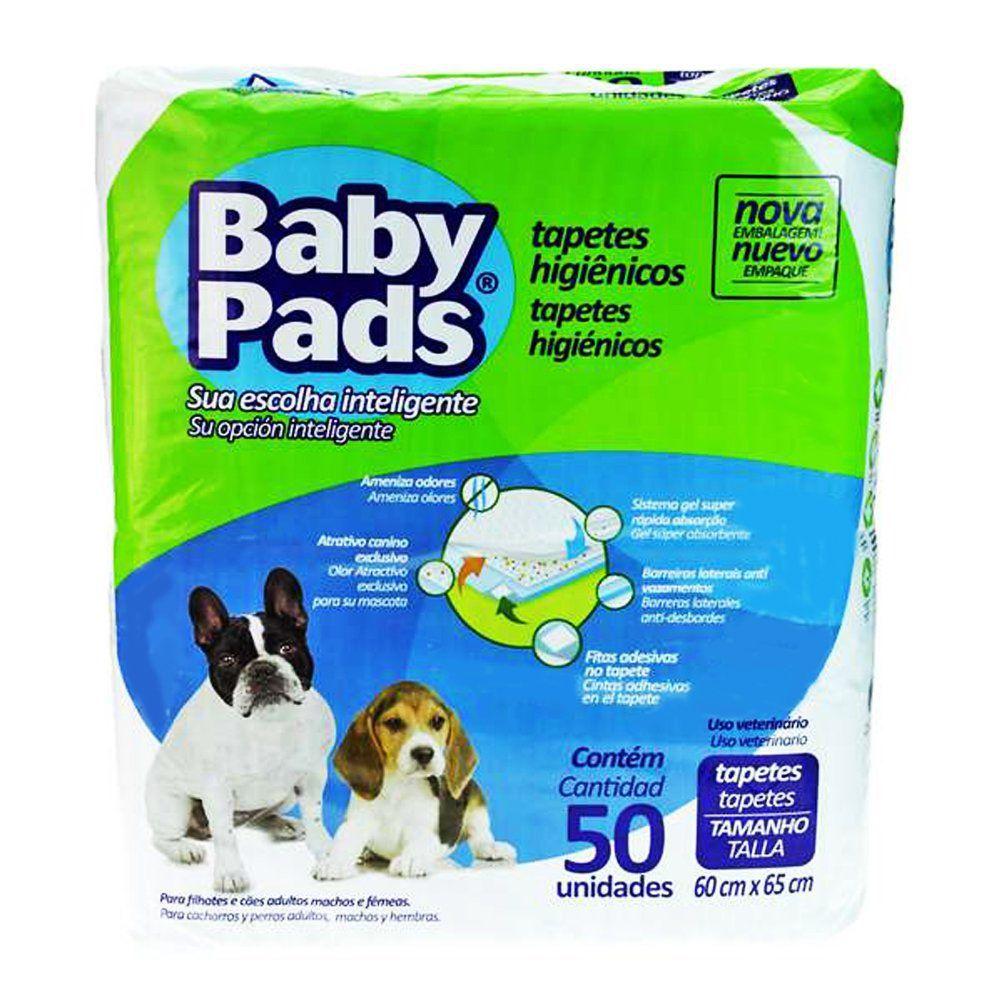 Tapete Higiênico Petix Baby Pads Para Cães 50 Unidades