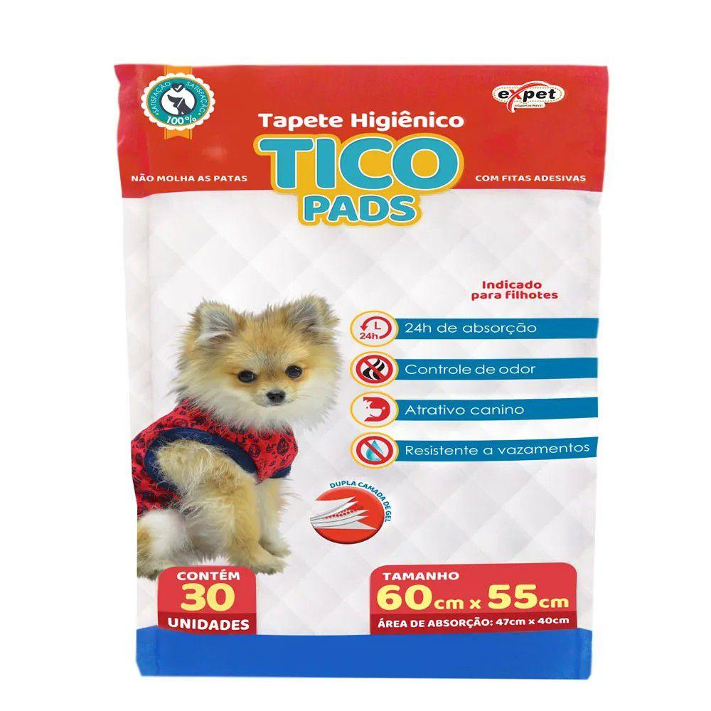 Tapete Higiênico Tico Pads Expet para Cães