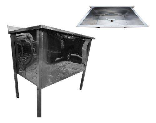 Tanque Industrial Inox 60x60x60 cm Nortinox
