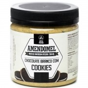 AMENDOMEL CHOCOLATE BRANCO COM COOKIES - 500G