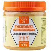 AMENDOMEL CHOCOLATE BRANCO COM PASSAS - 1010G