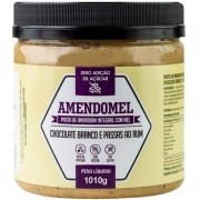 AMENDOMEL CHOCOLATE BRANCO COM PASSAS - 500G
