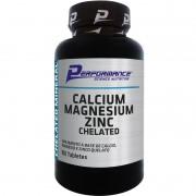 CALCIUM MAGNESIUM ZINC CHELATED - 100 TABLETES