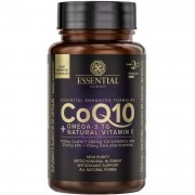 COQ10 + OMEGA-3 TG + NATURAL VITAMIN E - 60 CÁPSULAS