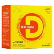 D3 + ZINCO - 30 CÁPSULAS