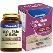 HAIR, SKIN & NAILS - 60 CÁPSULAS