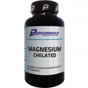 MAGNESIUM CHELATED - 100 TABLETES