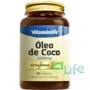 ÓLEO DE COCO 1000MG - 60 SOFTGELS
