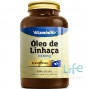 ÓLEO DE LINHAÇA 1000MG - 100 SOFTGELS