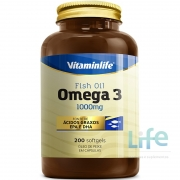 OMEGA 3 1000MG - 200 SOFTGELS