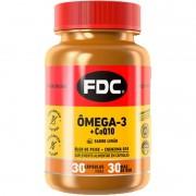 ÔMEGA-3 + COQ10 - 30 CÁPSULAS