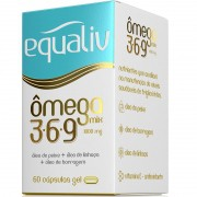 ÔMEGA MIX 3.6.9 1000MG - 60 CÁPSULAS