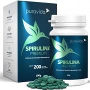 SPIRULINA  PREMIUM - 200 TABLETES DE 500MG