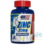ZINC 25MG - 60 CÁPSULAS