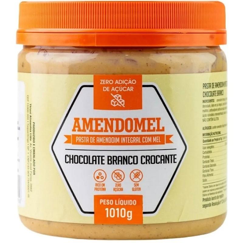 AMENDOMEL CHOCOLATE BRANCO  CROCANTE - 500G