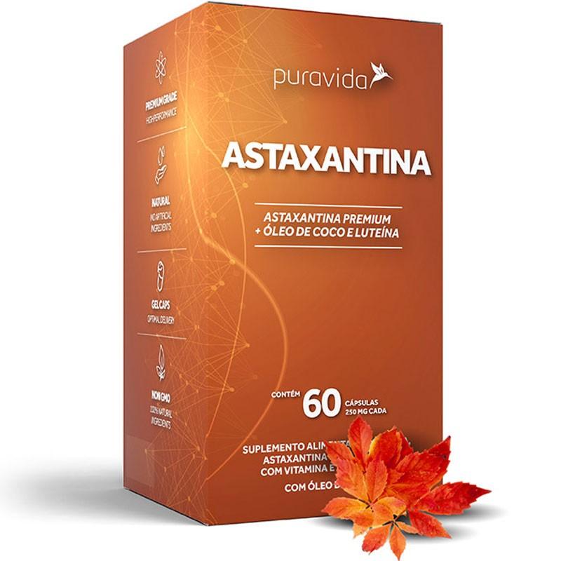 ASTAXANTINA (ANTIOXIDANTE E PROTETOR) - 60 CÁPSULAS