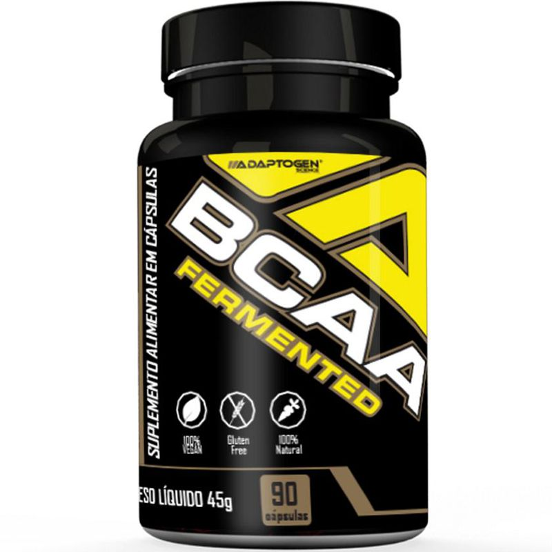 BCAA FERMENTED - 90 CÁPSULAS