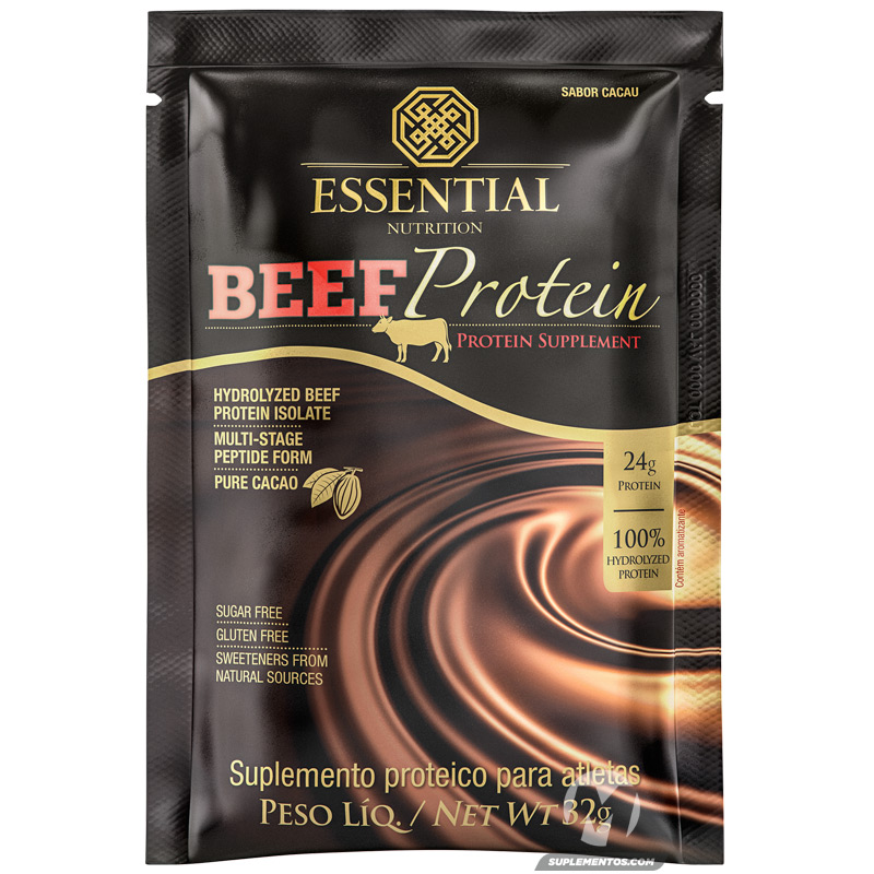BEEF PROTEIN CACAO SACHÊ - 32G