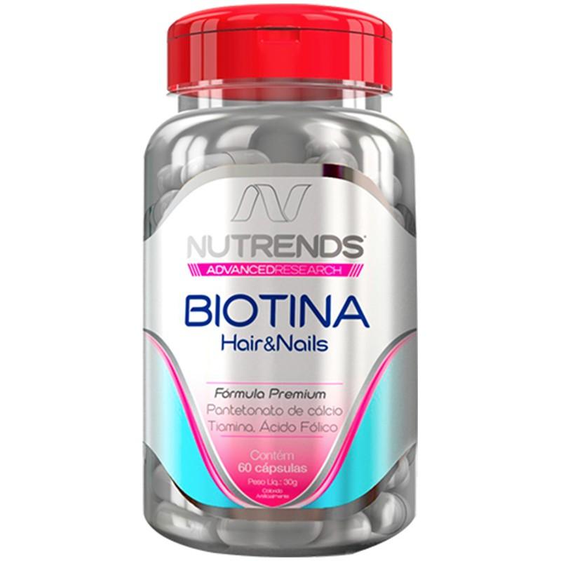 BIOTINA HAIR&SKIN - 60 CÁPSULAS