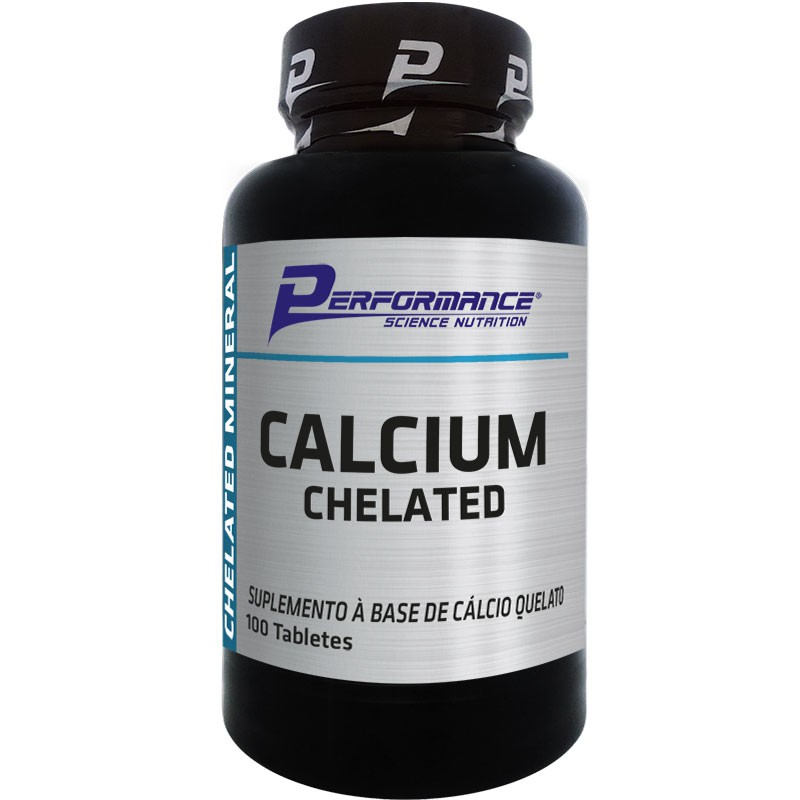 CALCIUM CHELATED - 100 TABLETES