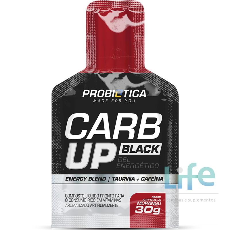 CARB UP BLACK GEL - 30G