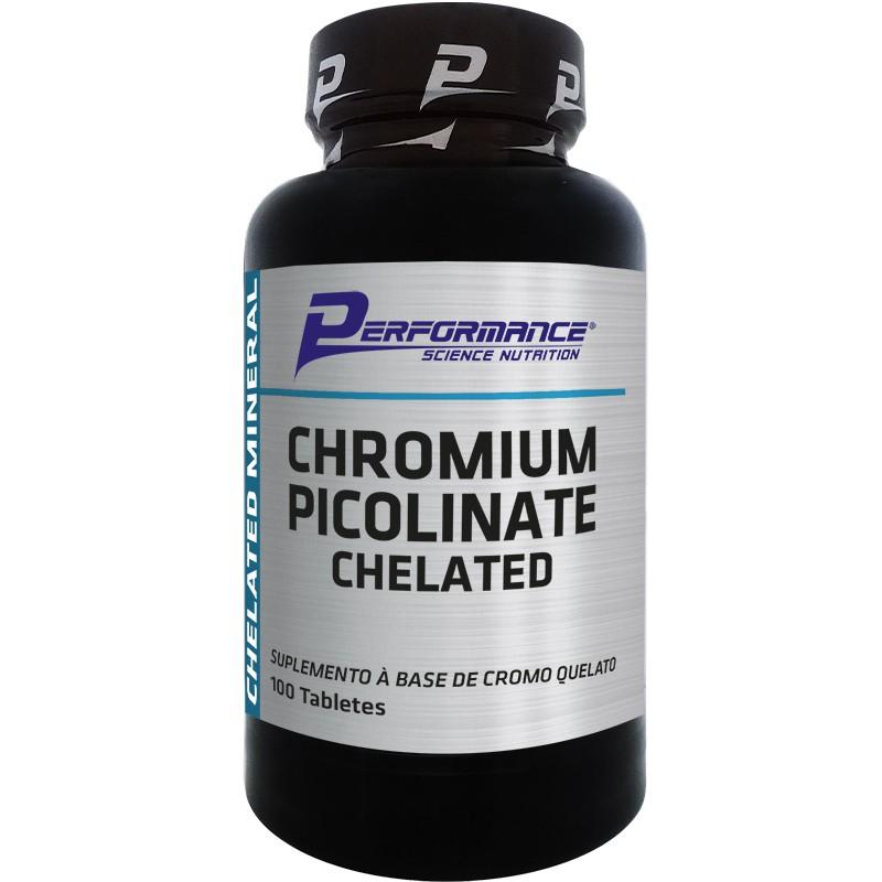 CHROMIUM PICOLINATE CHELATED - 100 TABLETES