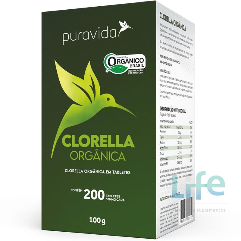 CLORELLA PREMIUM - 200 TABLETES