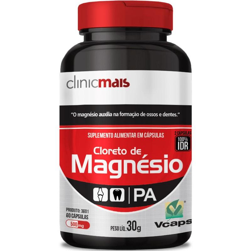 CLORETO DE MAGNÉSIO - 60 CÁPSULAS