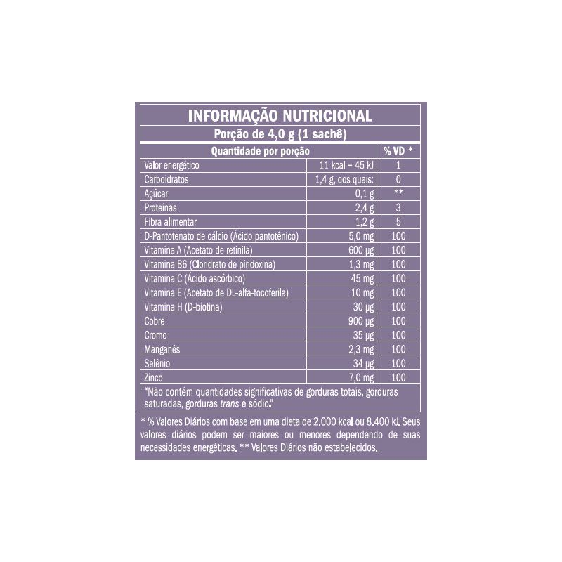 COLÁGENO HIDROLISADO TYPE ONE - 30 SACHÊS