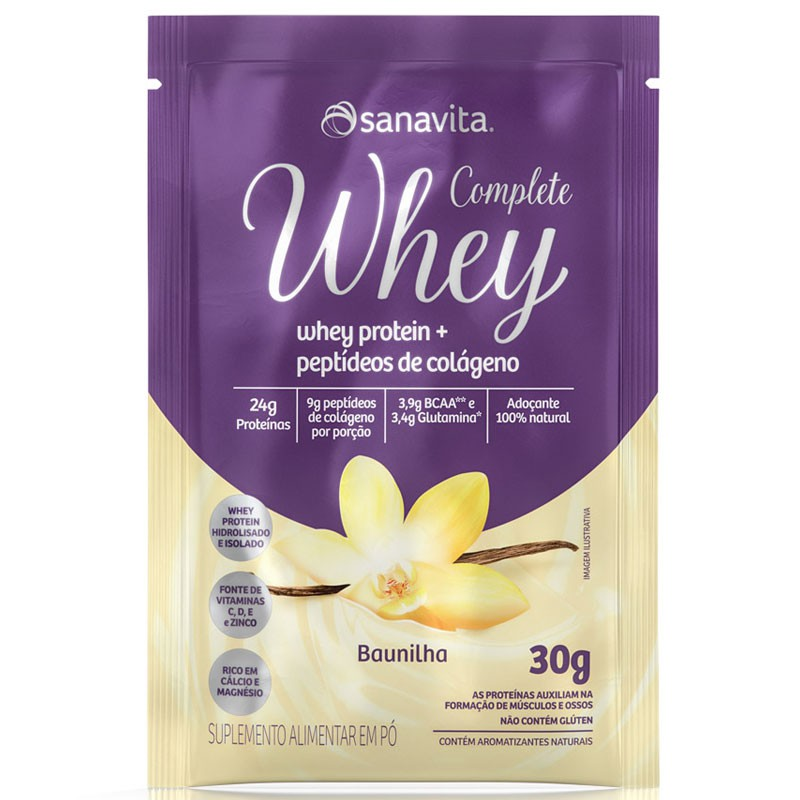 COMPLETE WHEY - 30G