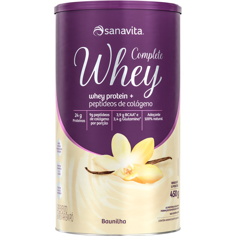 COMPLETE WHEY - 450G