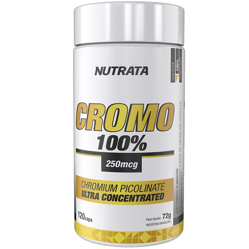 CROMO 100% ( CHROMIUM PICOLINATE ) - 120 CÁPSULAS