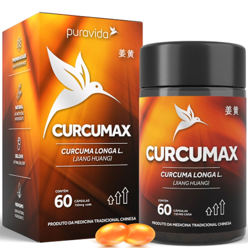 CURCUMAX - 60 CÁPSULAS DE 500MG CADA