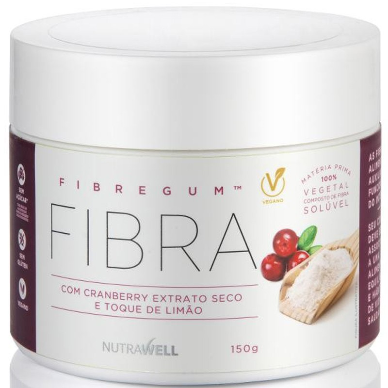 FIBRA FIBREGUM COM CRANBERRY - 150G