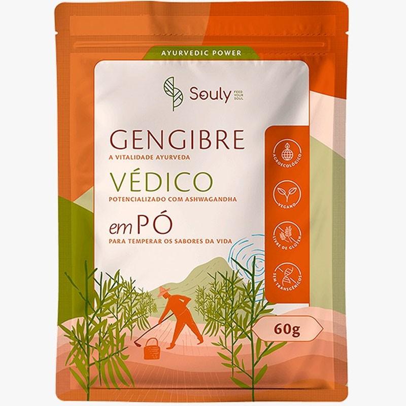 GENGIBRE VÉDICO - 60G