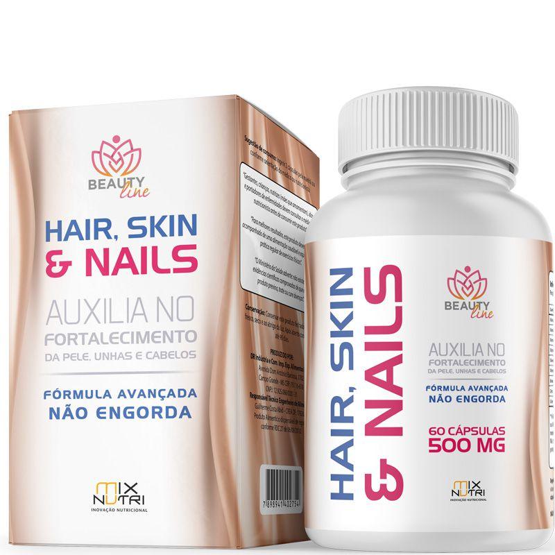 HAIR, SKIN & NAILS - 60 CÁPSULAS