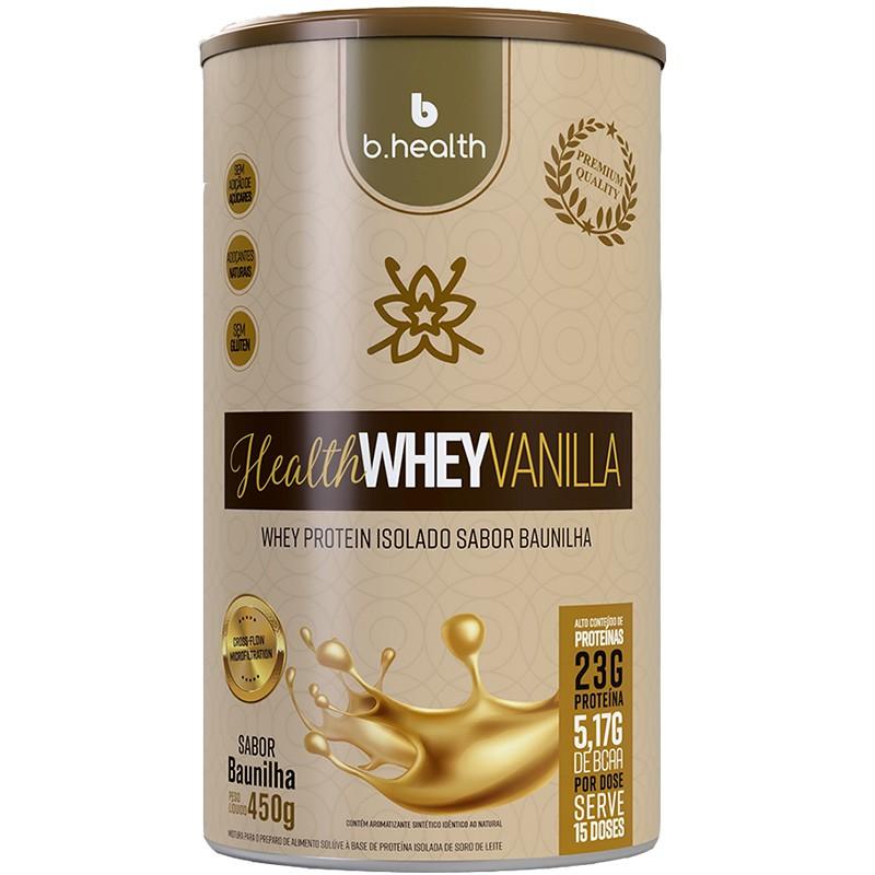 HEALTH WHEY VANILLA - 450G