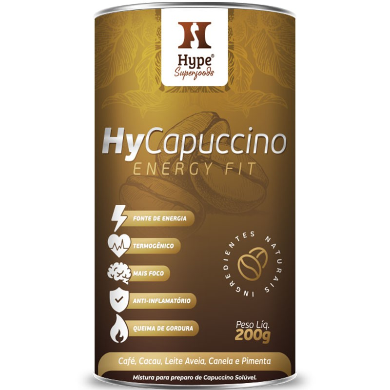 HY CAPUCCINO ENERGY FIT  - 200G